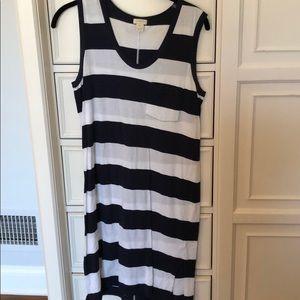 Tank top / t shirt J CREW striped dress!!